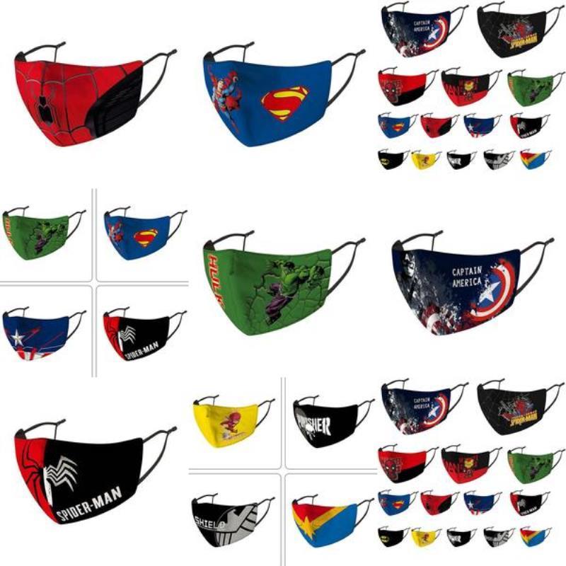 Чувство лица паук Face езда Холодные защитные маски маска маски для детей Хлопок мотоцикла банданы Дизайнер маска Маска Дети tZiih zlshop07