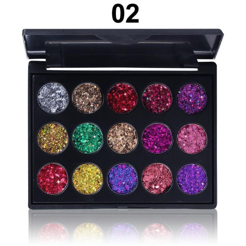 Eye Shadow Cmaadu Palettes Shimmer Glitter Polvere Palette opaco Ombretto Ombretto Cosmetico Trucco 15 Colori Lunga durata