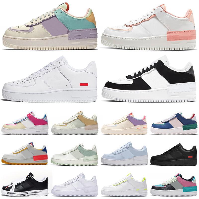 2020 platform shoes shadow men women Chaussures triple white Pastel Pale Ivory Hydrogen Blue womens mens trainers casual tennis shoe