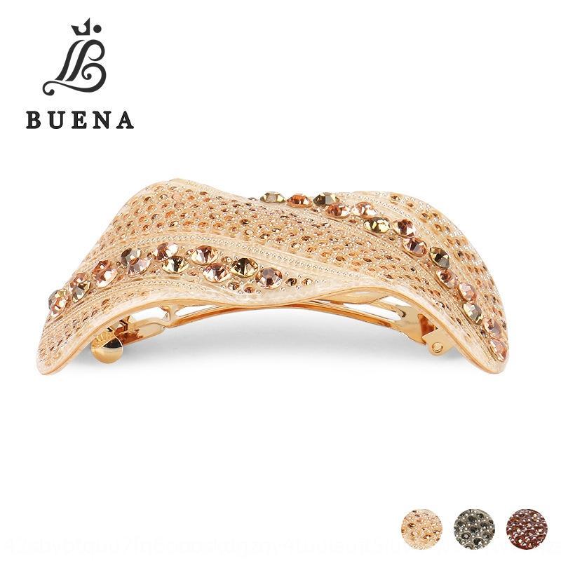 aDlNH acrilico di alta qualità pieno di grandi dimensioni primavera tornante gioielli ornamentshair accessori ponytail boutique acrilico di alta qualità pieno di diamanti di grandi dimensioni