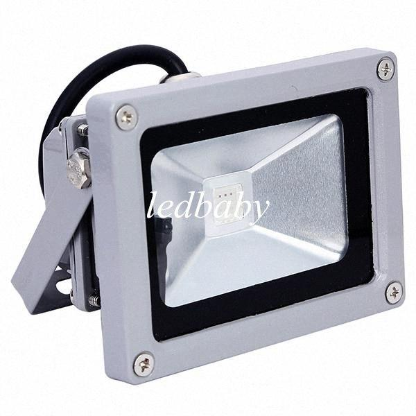 Free Shipping 10W Led Landscape Lamp Garden Outdoor Lighting Flood Light Lamp Projector Warm Cool RGB Led Floodlight o8oS#