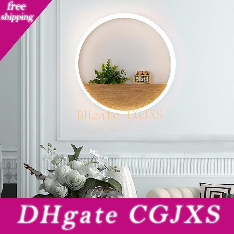 Angeführt Schlafzimmer Wandleuchte Innenbeleuchtung Minimalist Art Sconce Innen Für Privatanwender Hotel-Dekoration 20cm / 30cm / 40cm