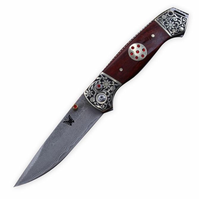 Benchmade163 Browning Pocket couteau pliant lame tranchante en bois poignée tactique de survie Couteaux outils extérieurs Livraison gratuite