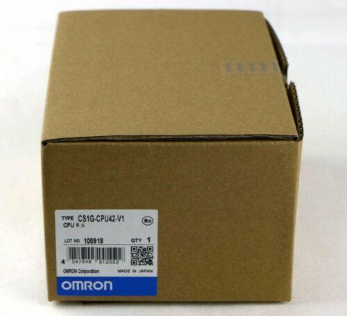 1PC NEW IN BOX Omron CS1G CPU42 V1-PLC-модуль на один год гарантии # XR