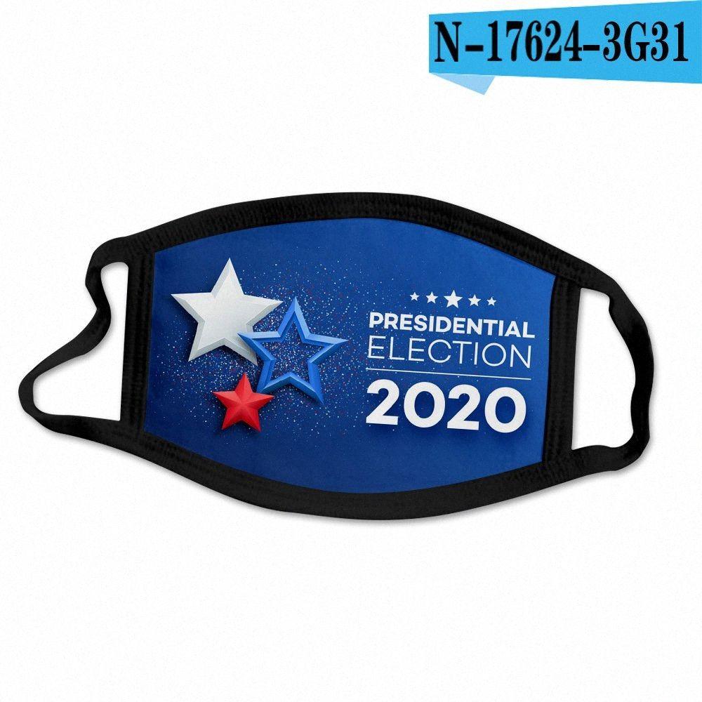 32style Trump маска 2020 Маски Американская Выборы Face Флаг США моющийся маска Ice Шелковый Многоразовые маски против пыли Защитная крышка GGA3512 kEJb #