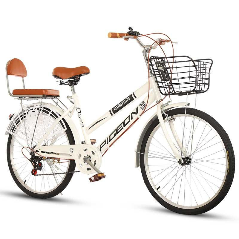 new Bicycle adult bicycle 22 inch 24-26 inch men's and women's commuter riding ordinary transportation variable speed bicycle