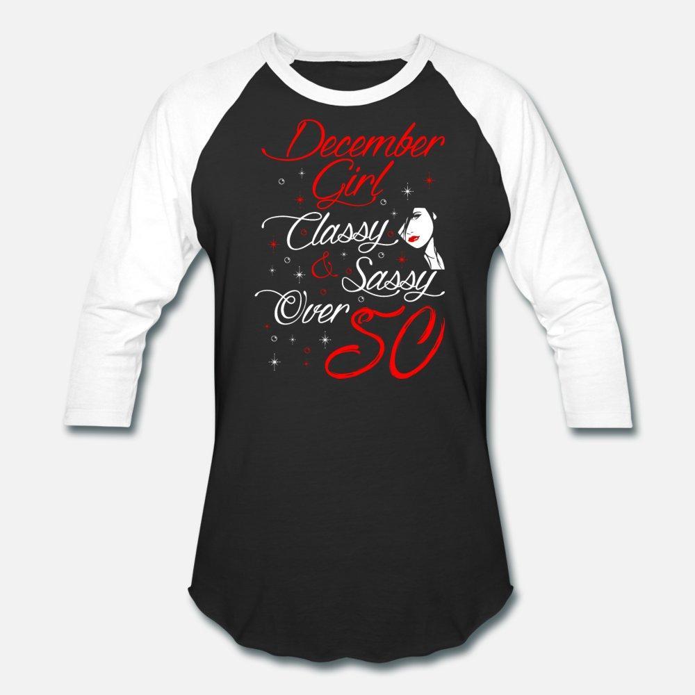 Dicembre Ragazze Classy e impertinente oltre cinquanta uomini della maglietta di stampa 100% cotone più di formato 3xl camicia Natural Fit divertente estate di svago di stile