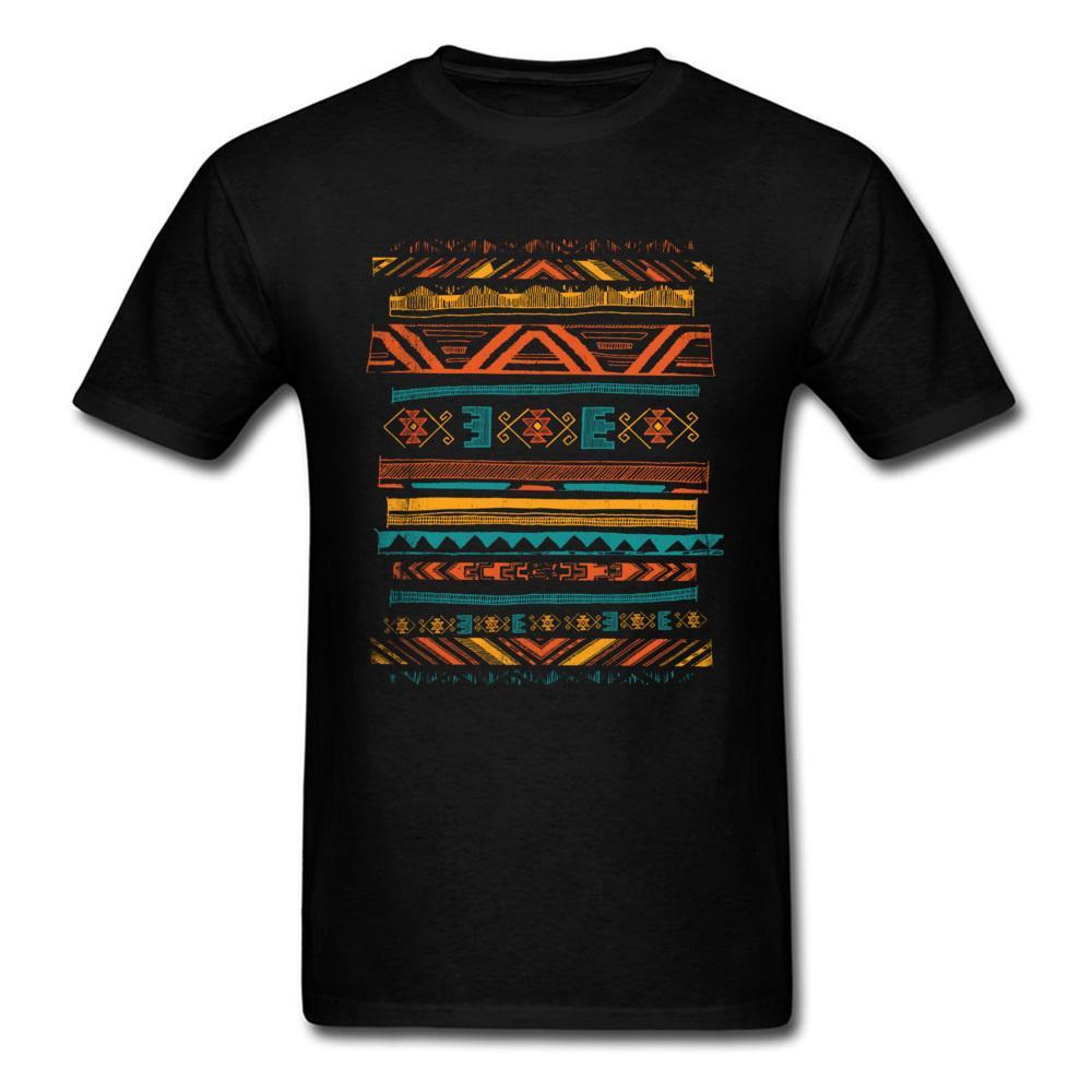 Toltec T-Shirt-Grafik-T-Shirt Männer schwarzes T-Shirt Tribal Art aus 100% Baumwolle übersteigt Adult T Design-Einbau Einzigartigen Drop Shipping Kleidung