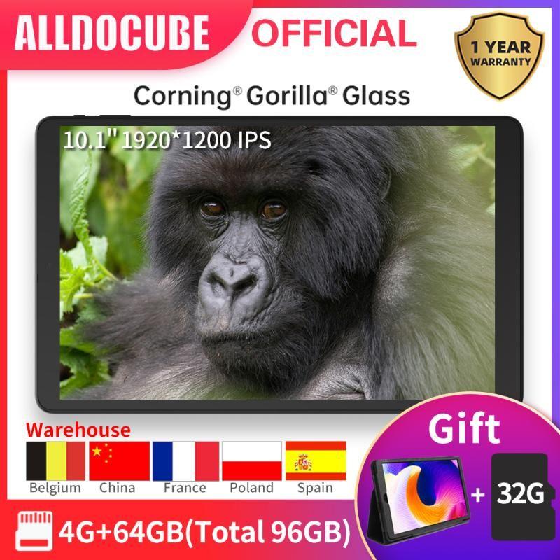 "Alldocube LTE Tablet iPlay20 10,1"" IPS tela SC9863A Octa Núcleo 4GB RAM 64GB ROM Android 10 Dual Camera SIM Card GPS Wifi"