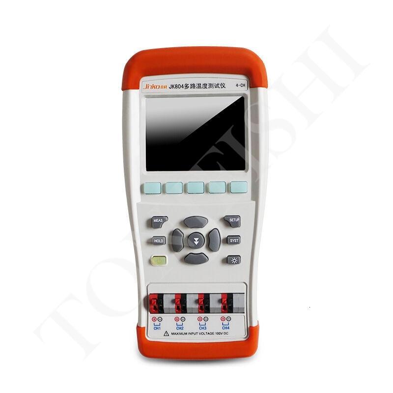 JK804 JK808 портативный тестер температуры многоканальных 4/8-канального осмотр температуры прибор термопара