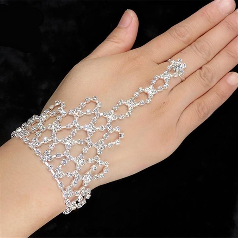 Vchte koreanischen Stil Latein Tanz DiamondRhinestone Diamonddiamond modisch elegante Brautschmuck koreanischen Stil Latin Dance Armband Diamon