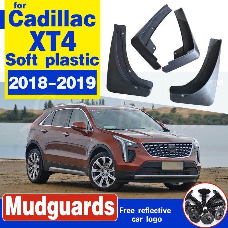 Auto-Schmutzfänger für Cadillac XT4 2018 2019 Fender Spritzschutz Schmutzfänger Schmutzfänger Kotflügel Vorderrad Hinterrad Weicher Kunststoff-Zubehör