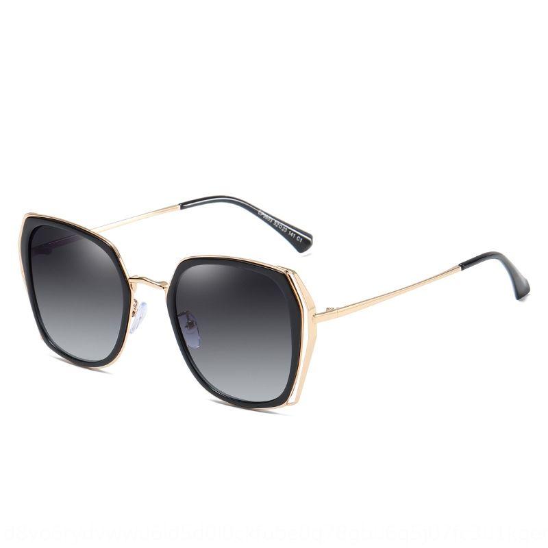 2020 nouveau soleil polarisé lunettes de soleil de femmes à la mode unisexe conducteur lunettes de soleil à la mode