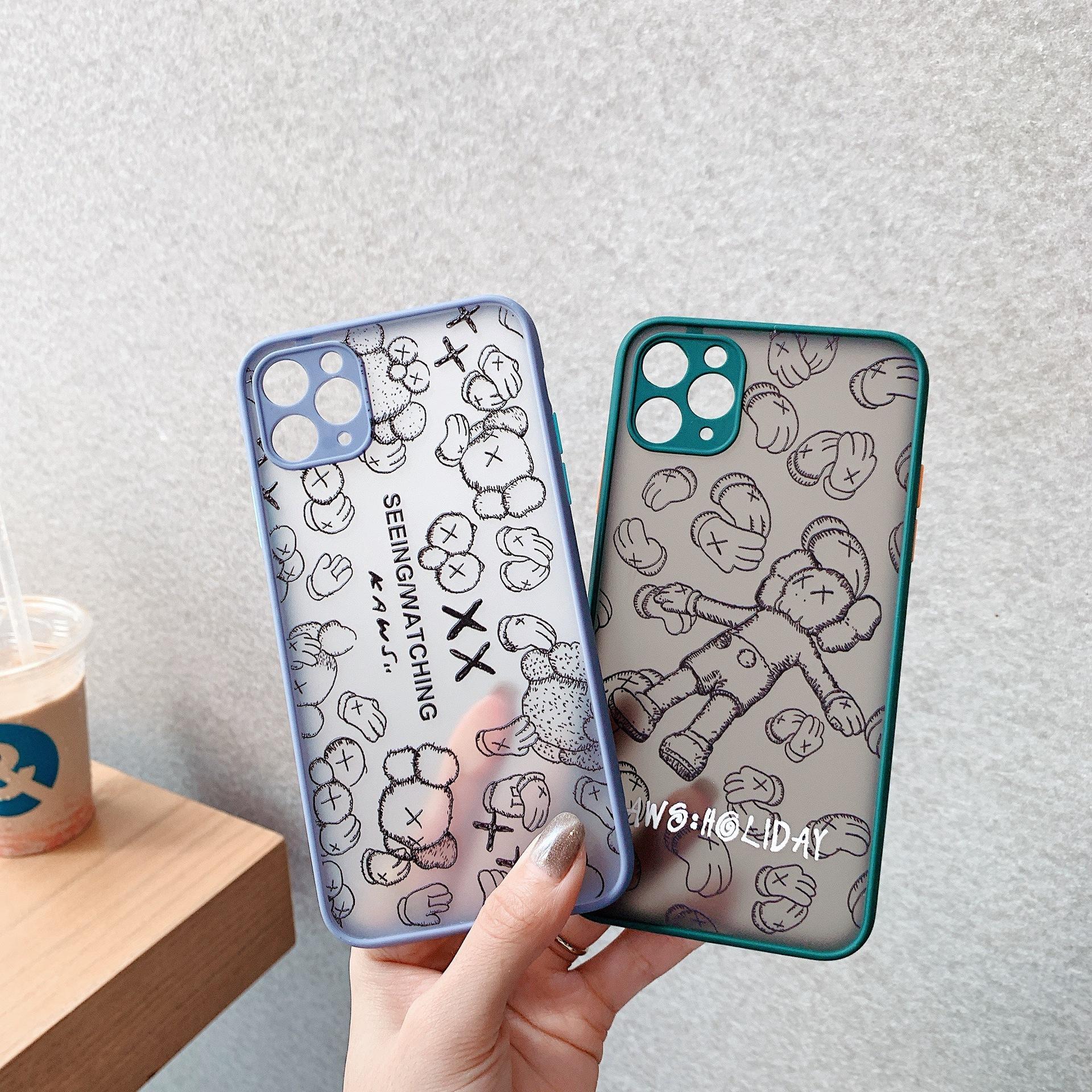 Großhandel 2020 neue Modedesigner-Telefon-Kasten für IPhone XS MAX X XR Famous Brand rückseitige Abdeckung für IPhone 11 Pro Max 6 6S 7 8 Plus