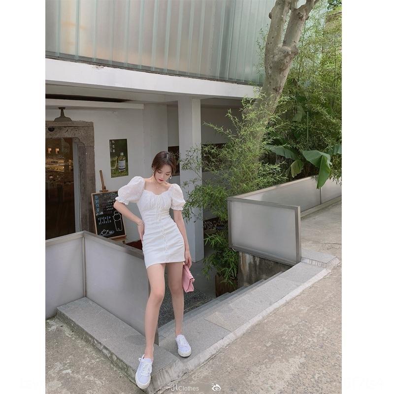 bmFvi été Les amateurs de robe de série haut de gamme en ligne célébrité Mori tempérament dentelle taille basse top robe