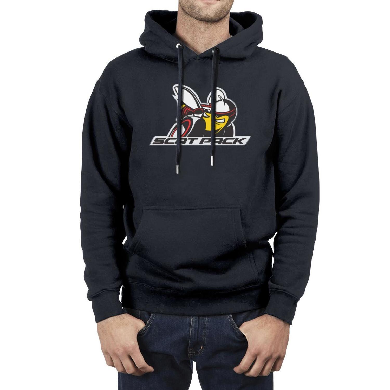 Logo Moda Masculina rodeio Bloco de Scat Oversized Hoodies, Sweatshirt novidade personalizado Hip hop Hoodies Clube SRT Charger Challenger Grande