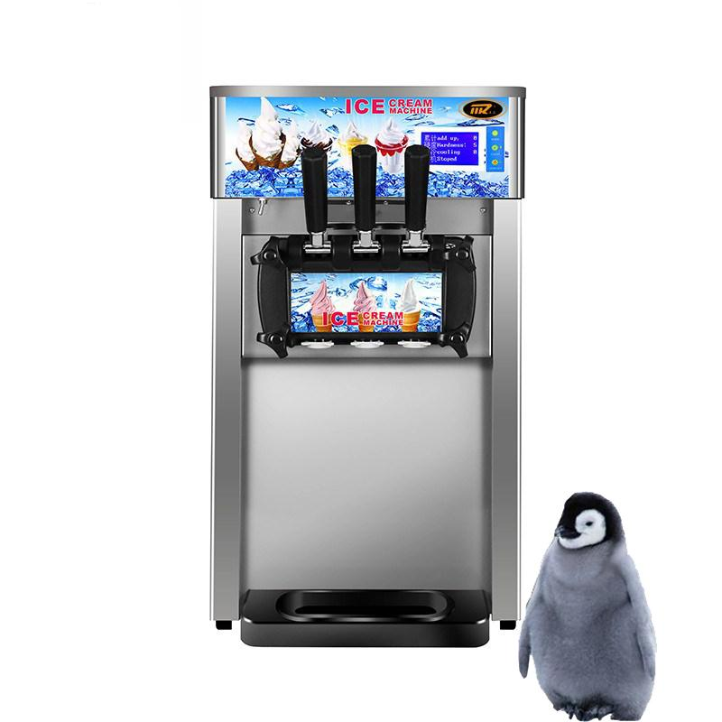 Fully automatic ice cream machine commercial high-quality 1200W taylor soft ice cream machine stainless steel ice cream machine