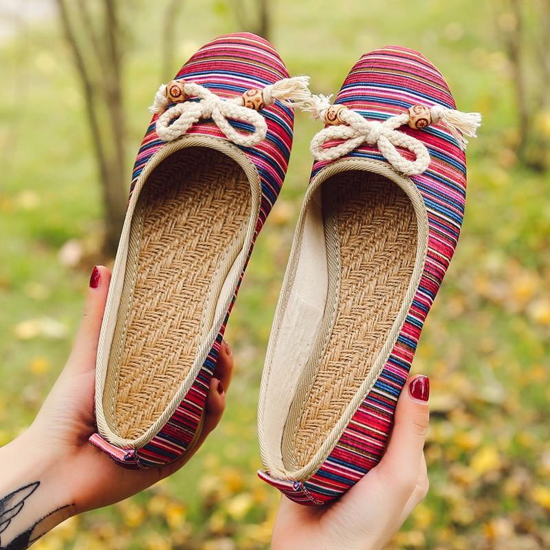 Sapatos sandálias elástico Female Moda Womens Shoes 2020 Rasas Boca Strappy Salto Grande Tamanho Deslizamento-na Ladies Luxury