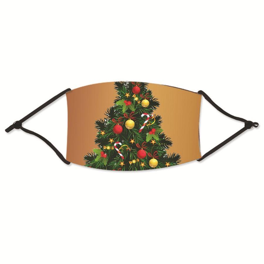 Stilvolle Mund Weihnachten Masken Mascherine Blumen Getränke Tarnaufdruck Staubdichtes Sun UV-Schutz Gesicht Weihnachten Hot Verkauf 1 95Js E # 75133 Maske