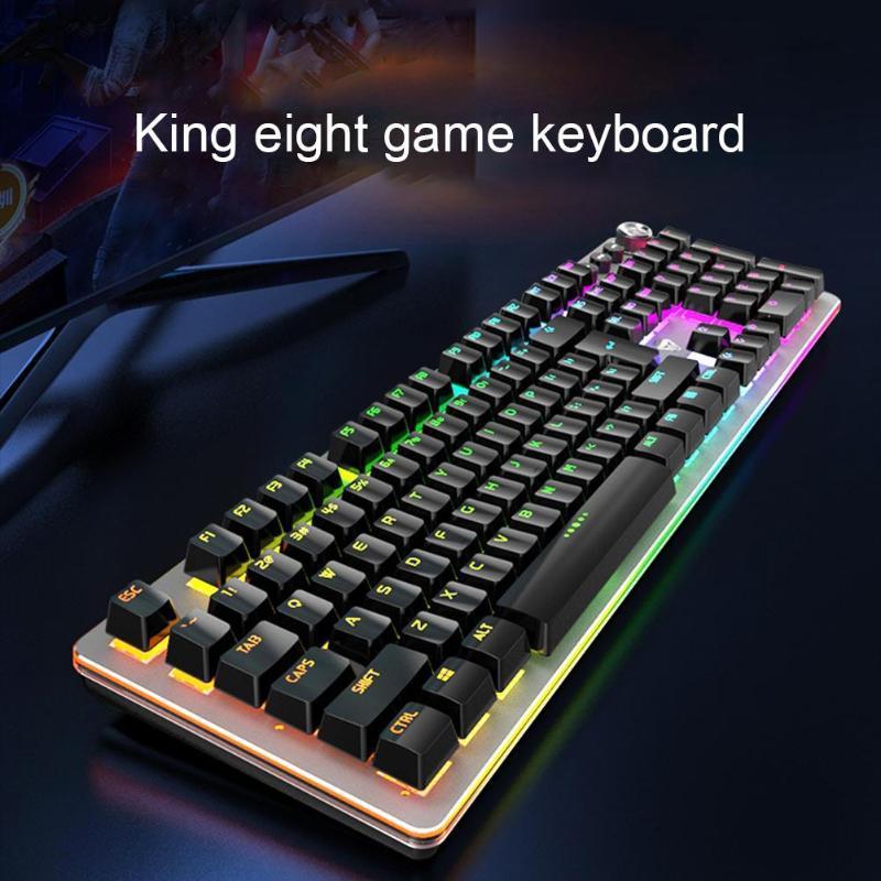 Claviers clavier mécanique USB G900 Wired Breflight Blue Shaft Gaming pour ordinateurs portables durables