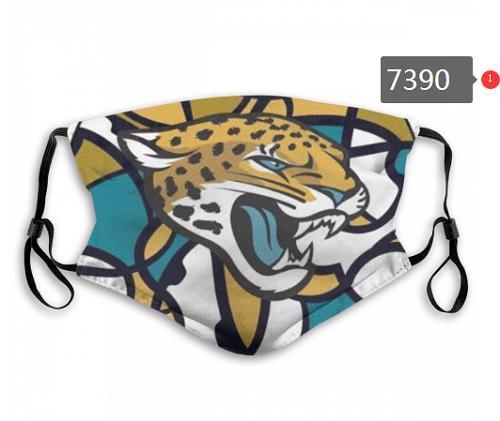 Yeni Jaguarlar Rugby Futbol Takımı Lüks Tasarımcı Buz İpek Pamuk Toz Yeniden kullanılabilir ve Yıkanabilir Yüz Koruyucu Açık Binme Maske Maske