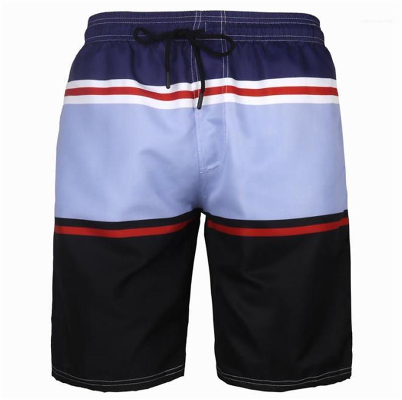 New Style Homme Pants Mens Plus Size, schnelltrocknende Shorts Mode Multi Strand Shorts Relaxed Drucken