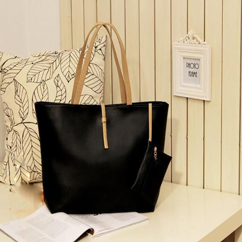 Große Frauen Handtaschen-Leder-Frauen-Schulter-Beutel-Entwerfer Messenger Bags Damen-lässig Tote