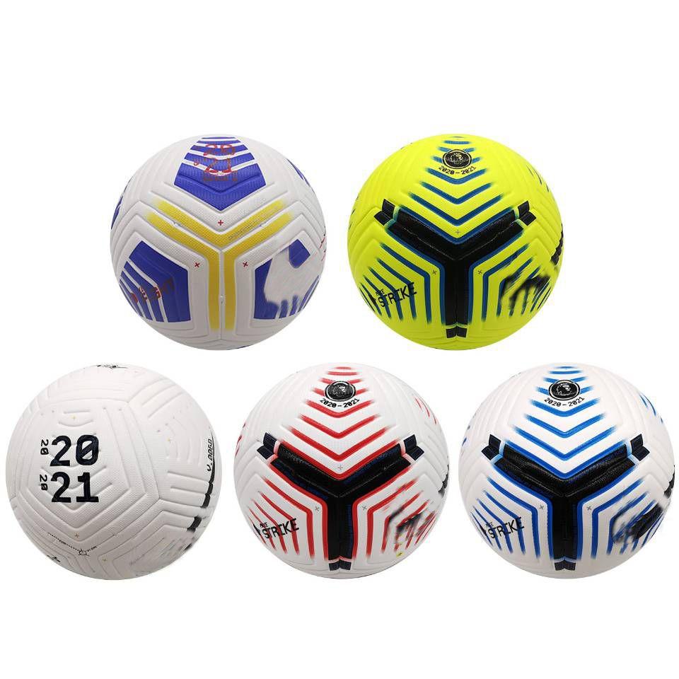كرة القدم الأوروبية تنقش 20 21pu حجم 5 الكرة حبيبي عدم الانزلاق تدريب كرة القدم الكرة المخصصة لعبة ذات جودة عالية لكرة القدم