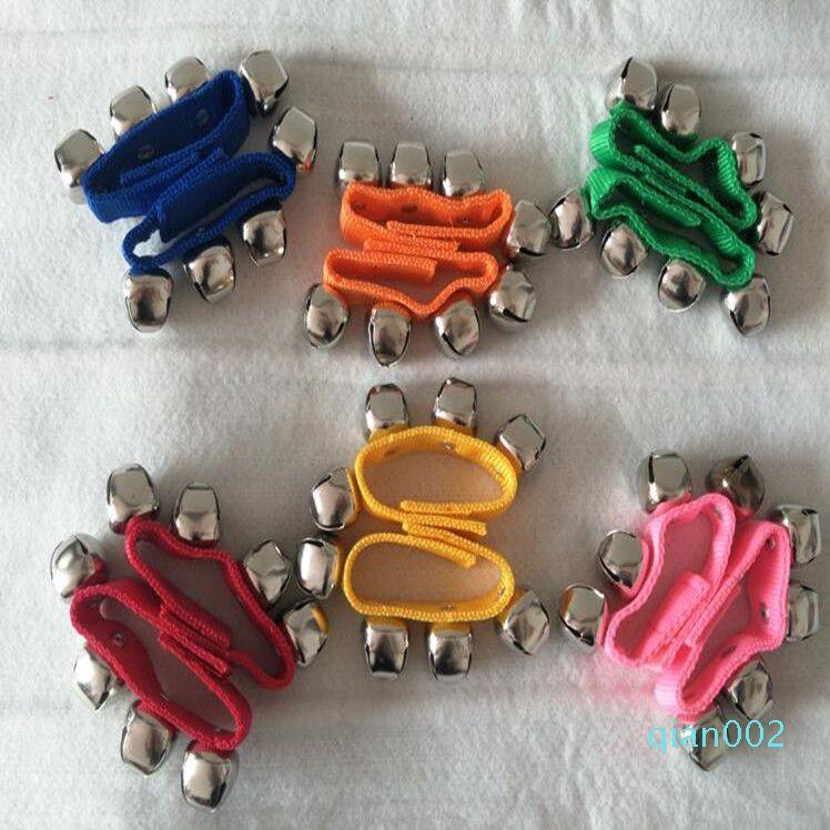 Kid da polso campana percussioni precoce Istruzione Danza giocattolo dell'udito partito giocattolo per adulti Atmosfera attivo partito giocattolo regalo WY102Q