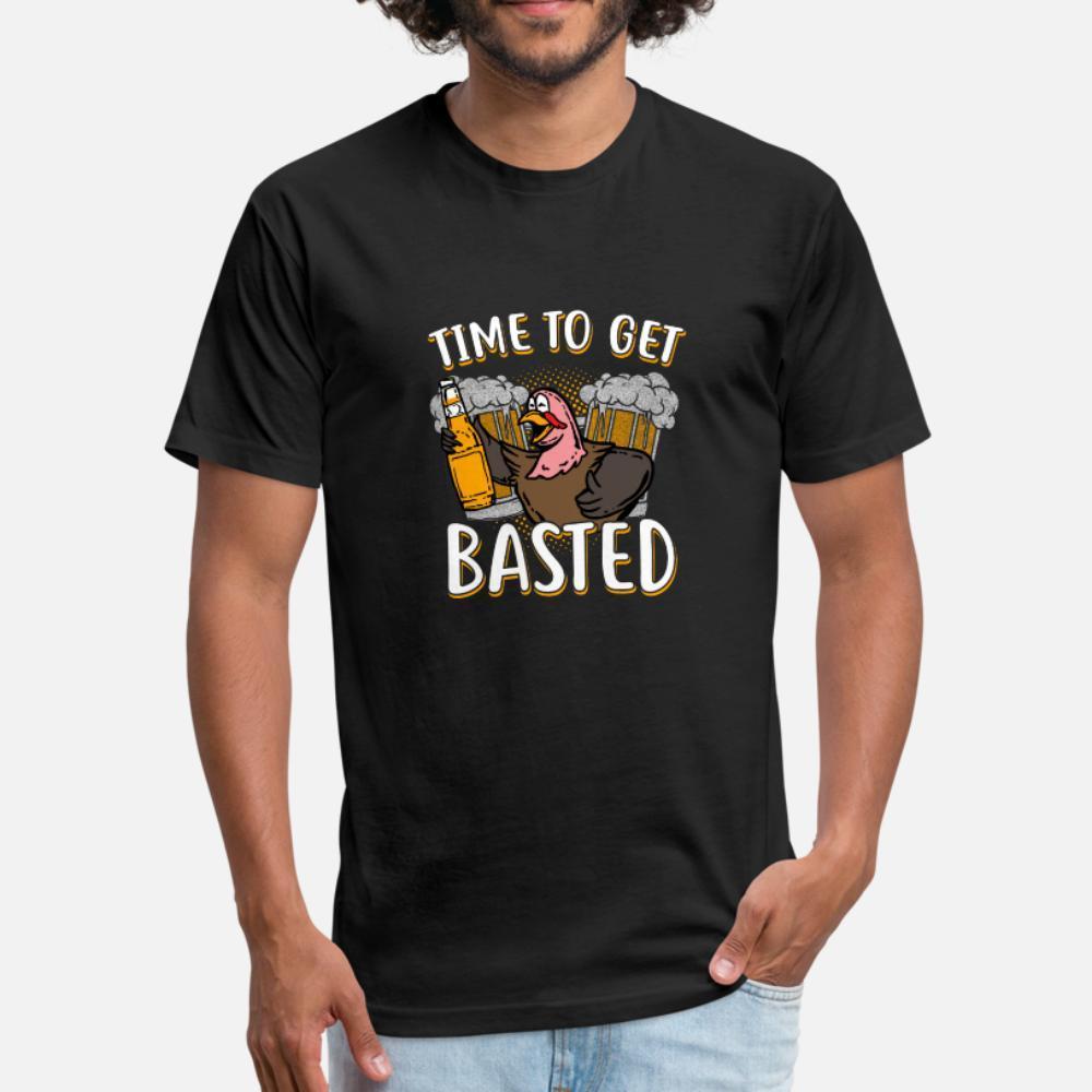 Geschenk Zeit Basted T-Shirt Männer Get T-Shirt S-XXXL Normallack lose lustiges Casual Sommer-Art-Outfit Shirt erstellen