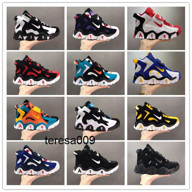 Nike Air Barrage Mid QS Black White Purple Scottie Pippen Basketball Sneakers Shoes Hyper Grape Raptors Mens Shoes Designer CD9329-003