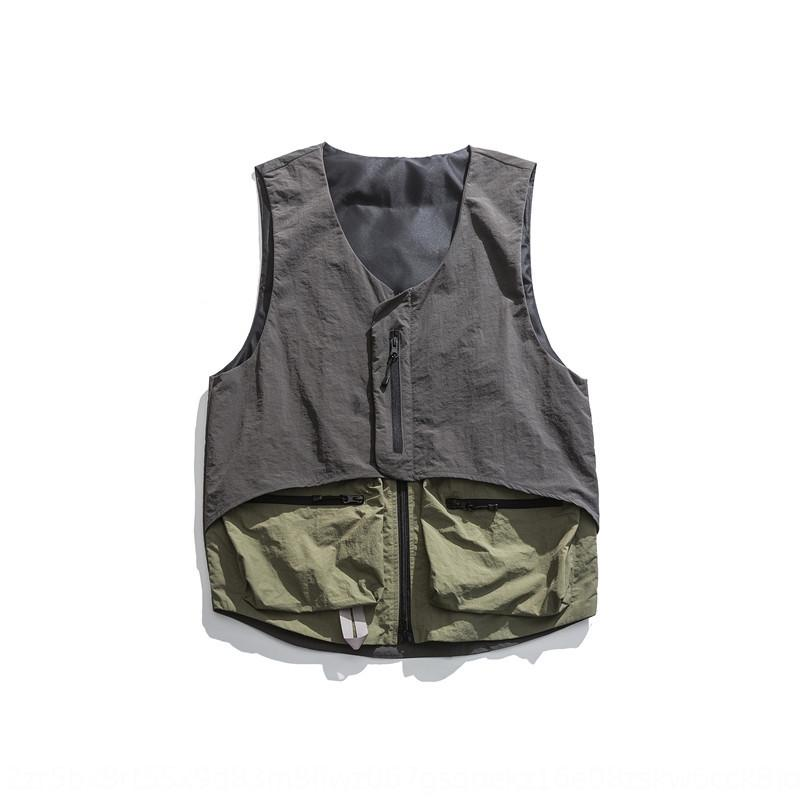 opKhJ fHSrS Abbigliamento antica colore Soprabiti vestiti della maglia 2020 della molla nuova usura Contrast da uomo tutto-fiammifero maglia di modo personalizzato tasca c