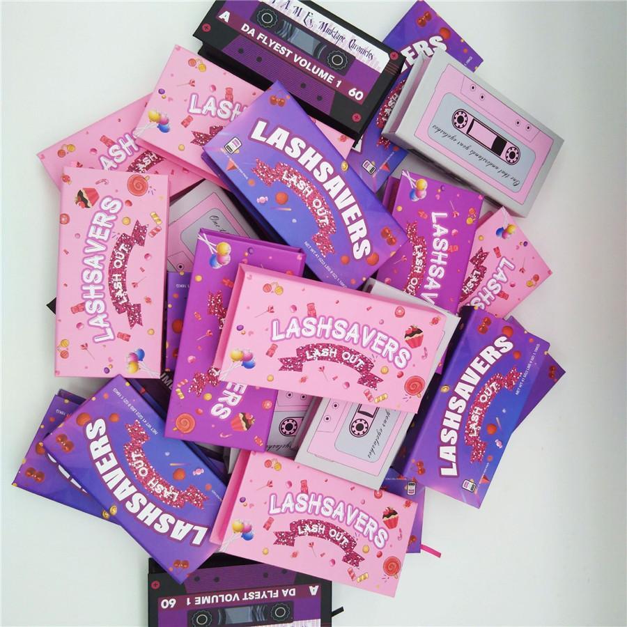 Новый дизайн Lashwoods Mink Lashes случаи 25мм Ресницы упаковочной коробки Выборочная без Lashes Бесплатная доставка Оптовые