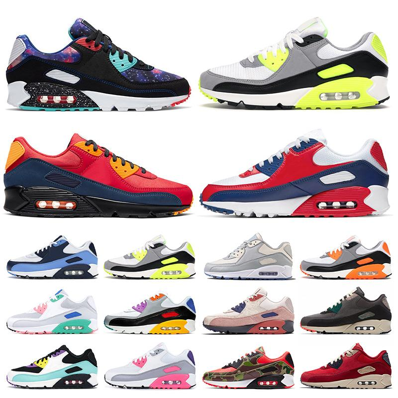 202 Top Fashion Shoes 90 da corsa per le donne uomini Air