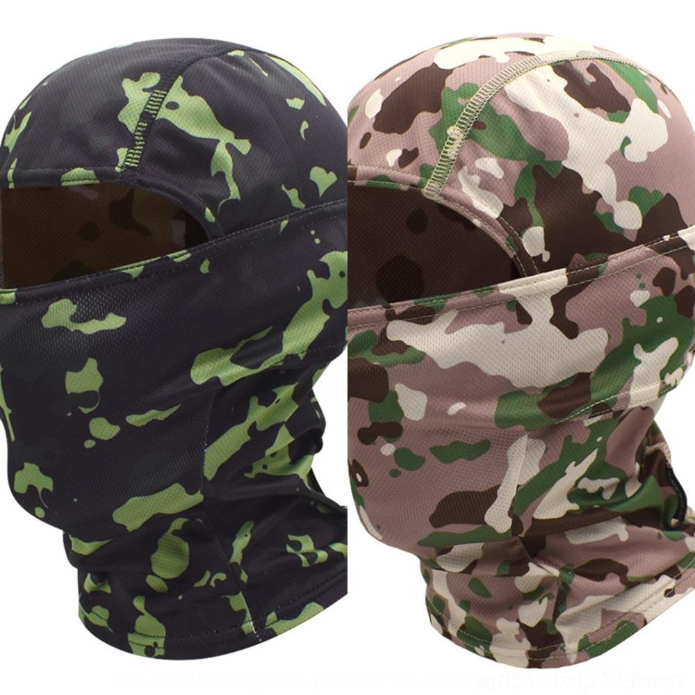 WOSAWE camuflagem véu ninja montando máscara MC camuflagem mascarar véu tático cross-country chapéu à prova de areia Dk8LZ chapelaria