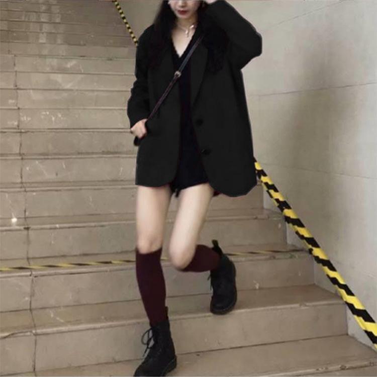 nui8b printemps Internet petits ins lâche nouveau rouge étudiant coréen style chic, veste de veste de costume célébrité casual 2020