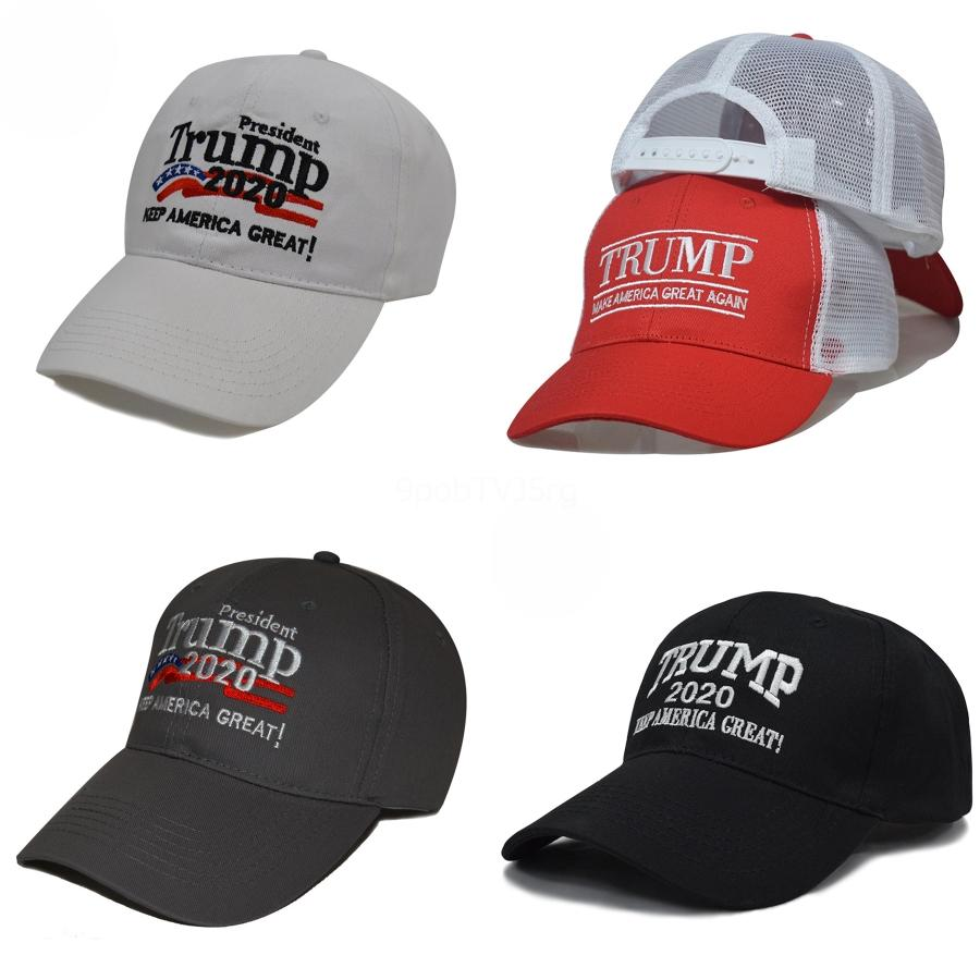 All'ingrosso-Trump 2020 della protezione del cappello di baseball repubblicano del cappello di baseball di New rendere l'America Great Again Cappellini ricamati Trump Presidente Cap # 243