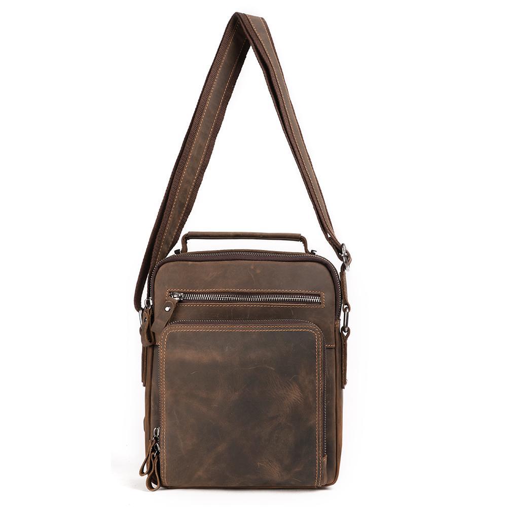 Get $600 Coupon Messenger Bag Crossbody Mens Messenger Bags Genuine Leather Messenger Bag For Men