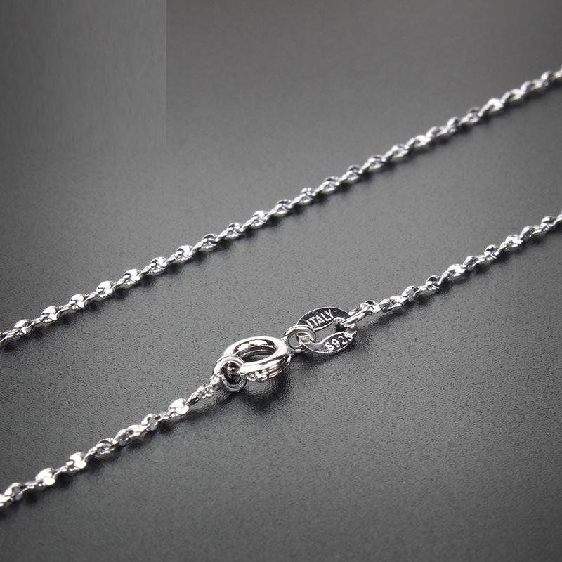 basic link chains necklace Gypsophila jewelry pendant necklace for women gift