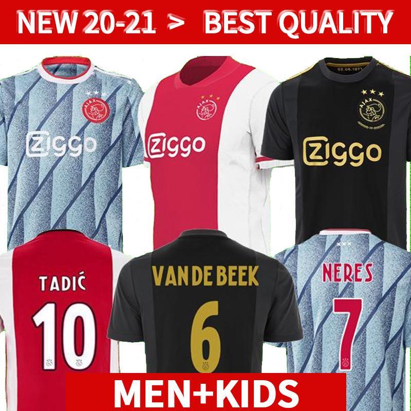 20 21 أمستردام اياكس FC كرة القدم جيرسي 2020 2021 قدوس ANTONY BLIND PROMES تاديتش NERES كرويف عدة الرجال والأطفال قميص كرة القدم الزي الرسمي بالقميص