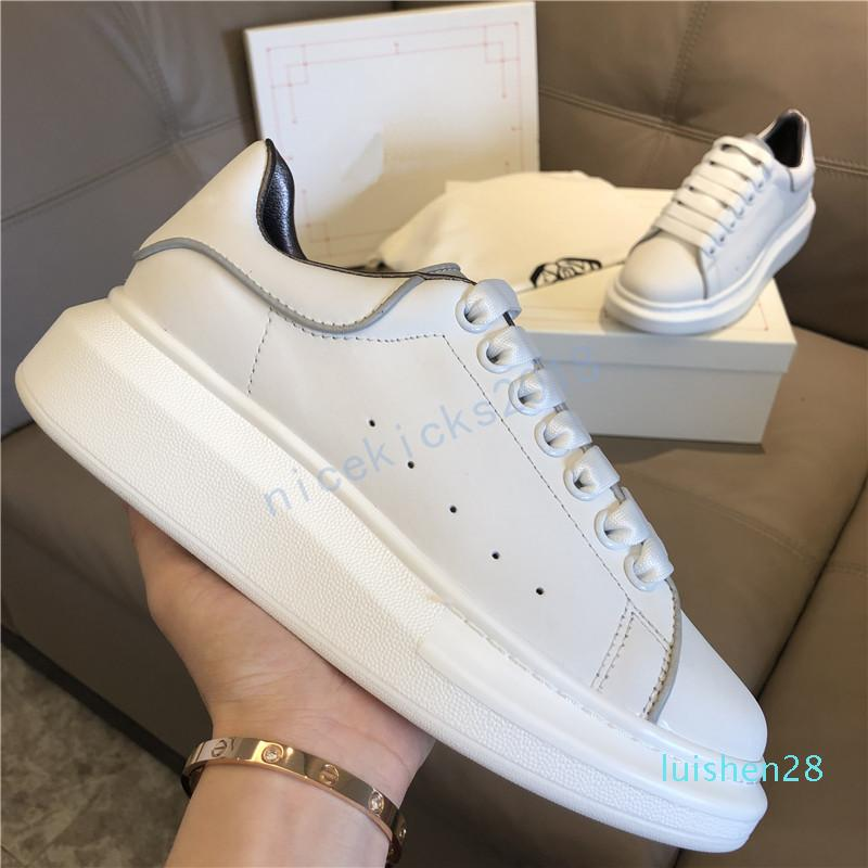 Black Shoes Casual Lace Up Conforto Pretty Girl Mulheres Sapatilhas de couro Casual Shoes Men Womens Sneakers extremamente durável Stabilityl28