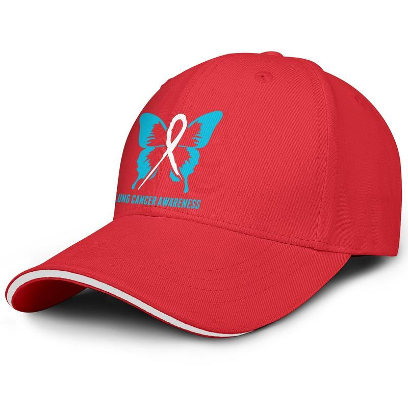 Fashion Baseball Cap Lung Cancer Awareness butterfly Breast Adjustable Ball Hat Cool Personalized Trucker Cricket Find A Cure For World