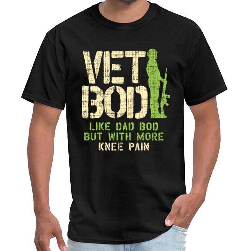 Aptitud Vet Bod como papá bod bits con MIR de dolor en la rodilla Royal Enfield camiseta mujeres vetement homme camiseta más el tamaño de s-5XL lema