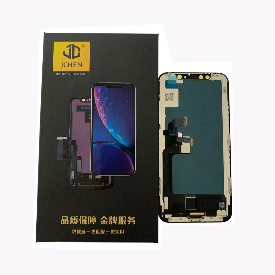 LCD/Oled display For iPhone X - Jchen X Hard OLED LCD Display Touch Screen Digitizer Complete Assembly Replacement