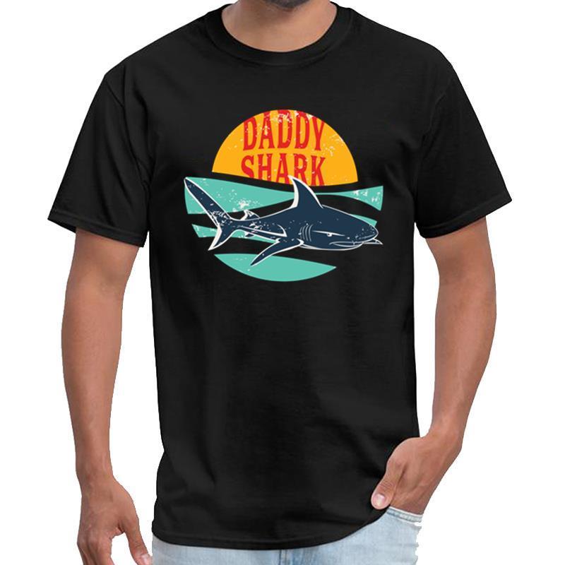 Personalizza Papà Shark yakuza t shirt donna Ropa anime maglietta parti superiori del T s-5XL