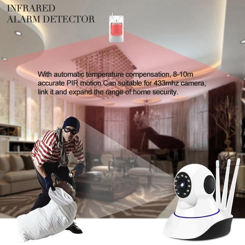 Link-Surveillance wifi CCTV IP Camera P2P wi-fi hd 1080P 2mp mini Wireless Home Security PTZ Camera Monitor Babyphone IP
