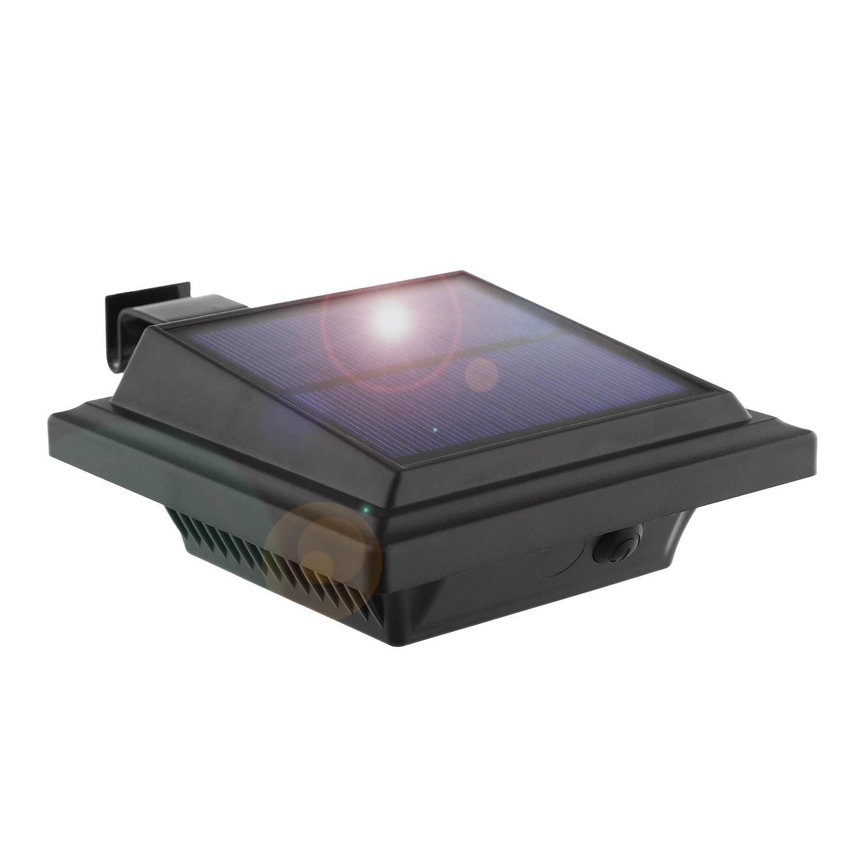 Lampade a parete all'aperto a LED Solar Security PIR Sensor Lights wireless IP65 Light watterproof per giardino Patio recinzione