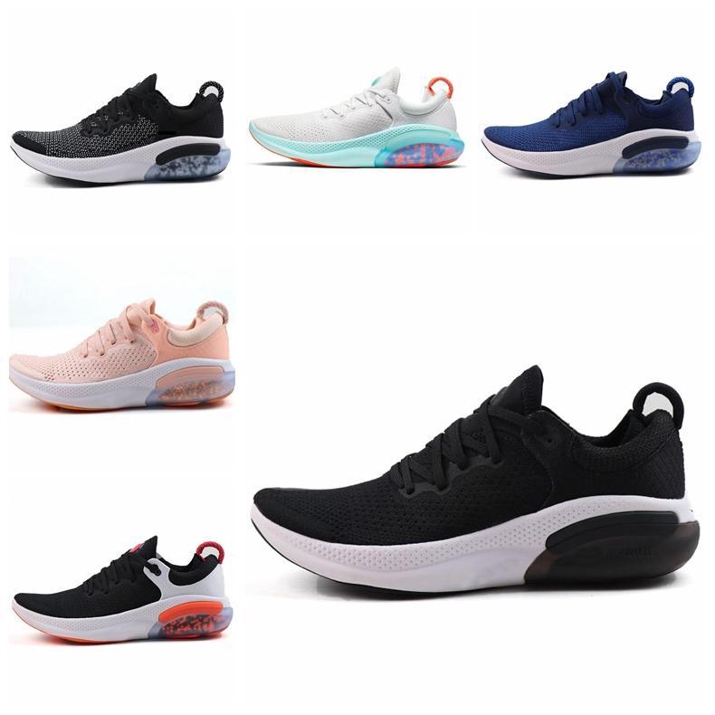 nike Joey RUN FK executando homens e mulheres sapatos corredores casuais faculdade Vermelho de três-em-um preto e branco vela platina sapatos desportivos sapatos ao ar livre