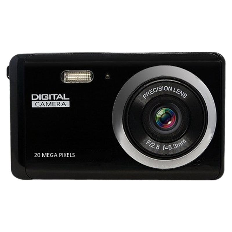 Digital Camera 1080p HD Digital Camera de 2MP recarregável Anti-Shake Vídeo