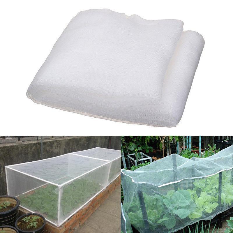 Treibhaus Schutznetz Obst Gemüse Pflege Abdeckung Insect Net Pflanzenabdeckungen Net Garten Schädlingsbekämpfung Anti-Vogel Mesh-Stoff
